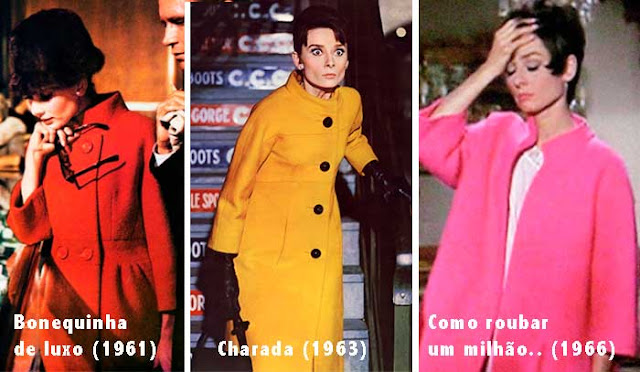 Casaco Audrey Hepburn em filmes