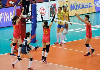 vôlei feminino seleção brasileira