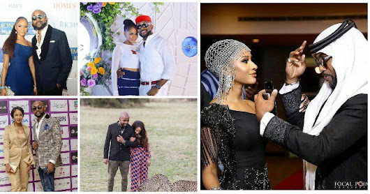 These 7 Couple Moments Of Adesua And Hubby Banky W Will Make You Fall in Love (Photos)