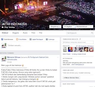 Fakta Wota Indonesia Grub Fans JKT48