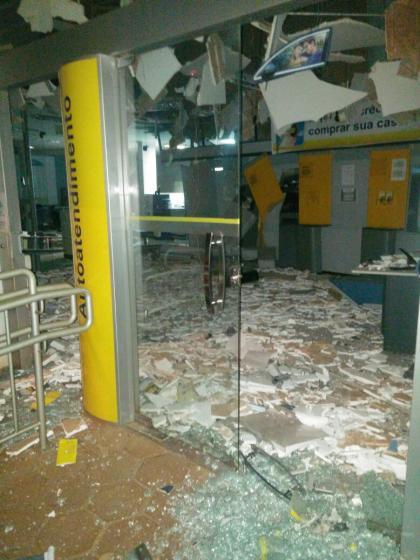 Explosões de caixas eletrônicos no Banco do Brasil em Campina da Lagoa
