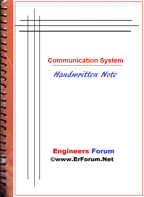 communication-system-handwritten-note