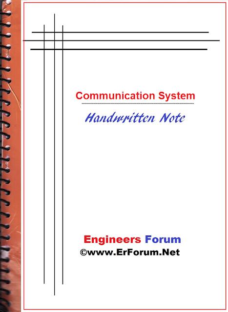 communication-system-handwritten-note