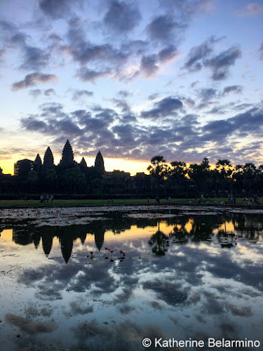 6:09 iPhone photo Angkor Wat Sunrise Tips Siem Reap Cambodia