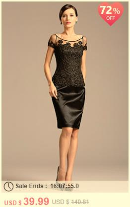 Bateau Neck Black Mother of the Bride Dress