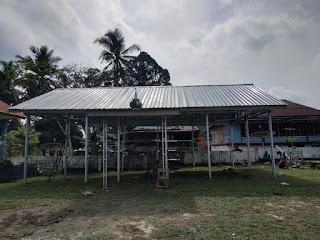 Atap baja ringan Mushola