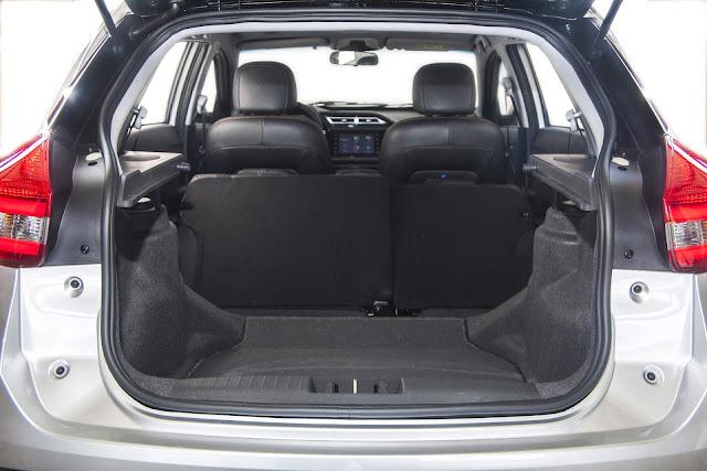Novo Chery Tiggo II 2018 Flex - porta-malas