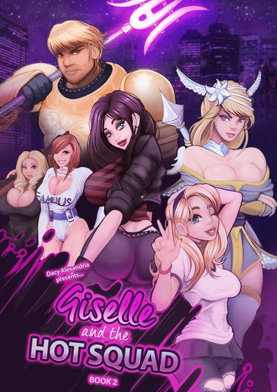 Giselle and the Hot Squad 2 cover