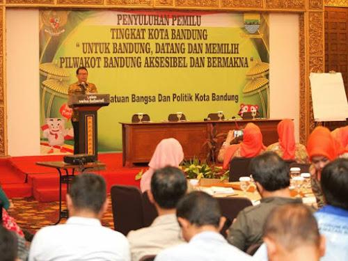 Penyuluhan Pemilu Tingkat Kota Bandung Tahun 2017
