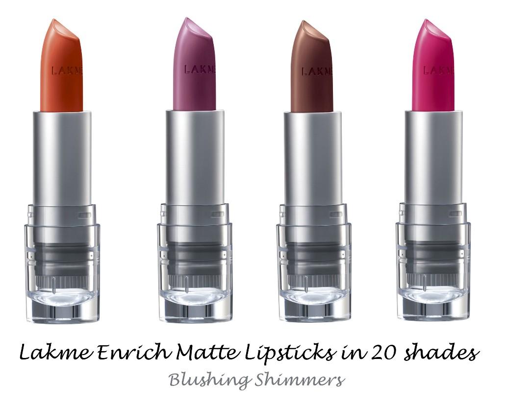 Lakme Enrich Matte Lipsticks