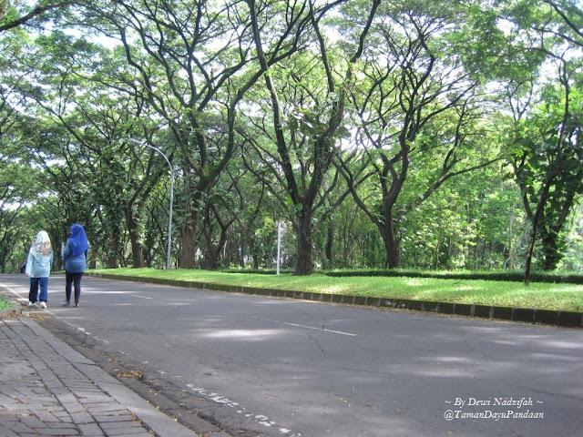 Jogging track Taman dayu Pandaan