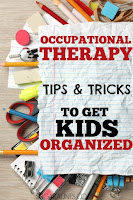 Organization tips for messy kids in the classroom
