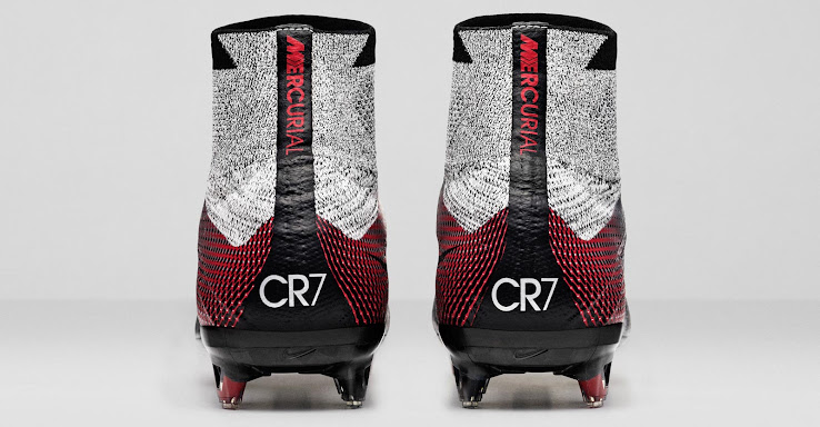 43abd26642a6 ... shop the silver black and red nike mercurial superfly cr7 quinhentos  boot draws inspiration from one