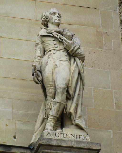 Statue of André Chénier by Auguste Preault, Musée du Louvre, Louvre Museum, Paris