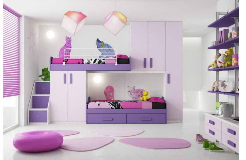 40 Desain Kamar Tidur Anak Perempuan Contoh Desain