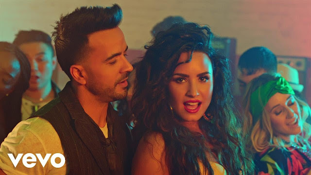 Watch Luis Fonsi & Demi Lovato's 'Echame La Culpa' Video