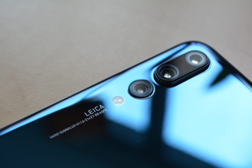 The Huawei P20 Pro Three Cameras