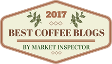 Awarded 2017 Best Coffee Blog Award by Market Inspector