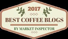 Awarded 2017 Best Coffee Blog Award by Market Inspector