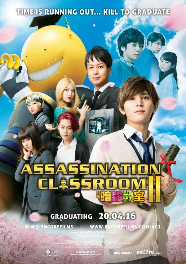 Xem Phim Lớp Học Ám Sát 2 2016