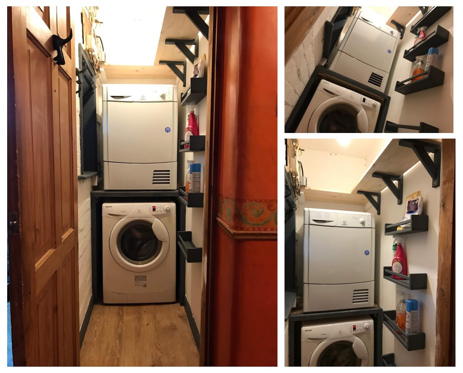 DIY Laundry Cupboard