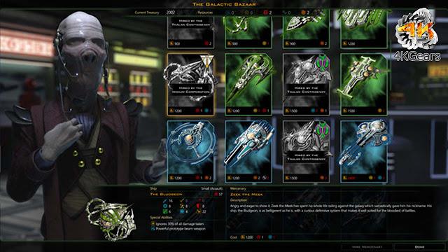 Galactic Civilizations III Mercenaries