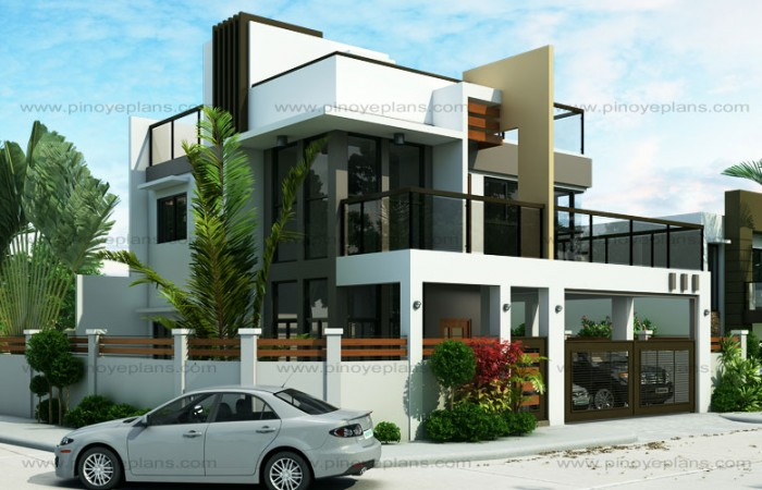 Superieur ESTER U2013 FOUR BEDROOM TWO STOREY MODERN HOUSE DESIGN (MHD 2015020)
