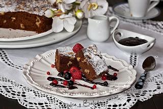 Brownie de Chocolate y Nueces en Microondas