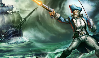 Chinese Minuteman Gangplank Splash Art