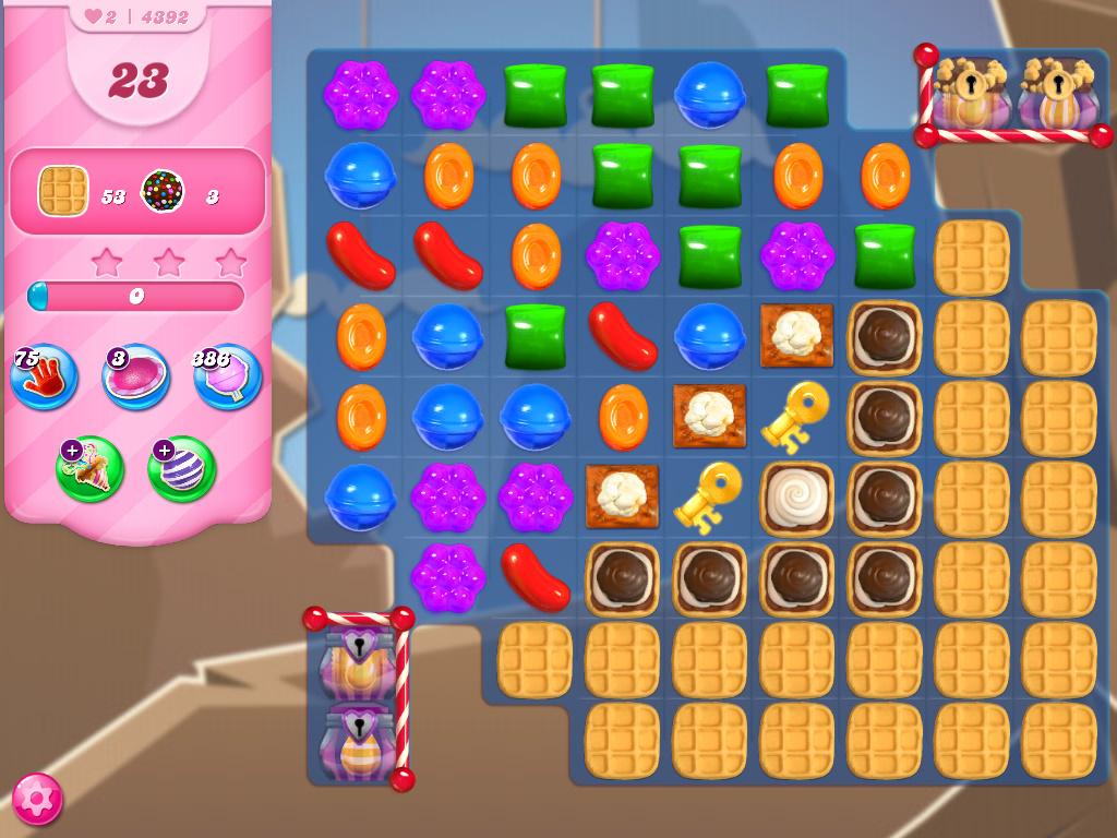 Candy Crush Saga level 4392