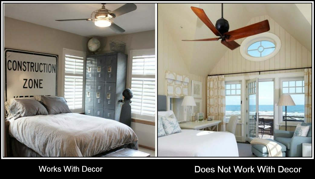 Two ceiling fans in one room shapeyourminds good life of design the bad and ugly ceiling fans aloadofball Image collections