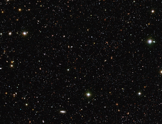 Millions of Distant Galaxies