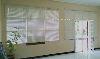 horisontal blind, vertical blinds, blinds, curtain, tirai, minimalis