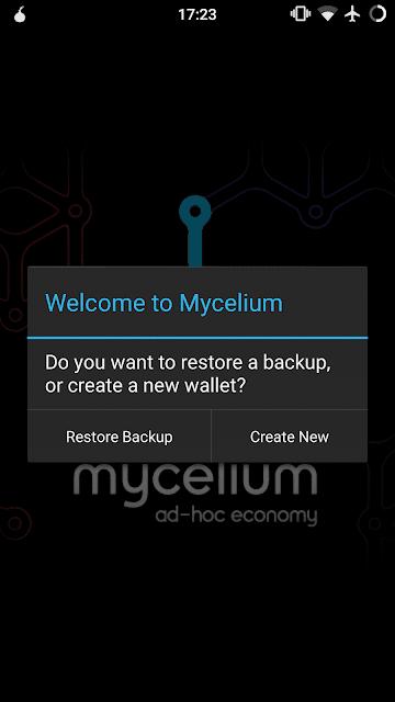 Cara Restore Dompet Trezor dengan Mycelium