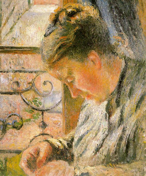 Painting Of Camille Pissarro 1830 1903 Artist Camille