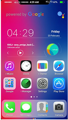 Iphone X Theme Download For Vivo