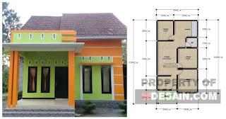 Rumah Minimalis 6x12 Tampak Depan Desain Rumah Minimalis