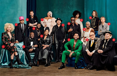 Dig Out Clive Davis' Grammy Party Class Photo! Featuring Joni Mitchell, Janet Jackson, Lil'Kim, Cyndi Lauper, Beck & More!