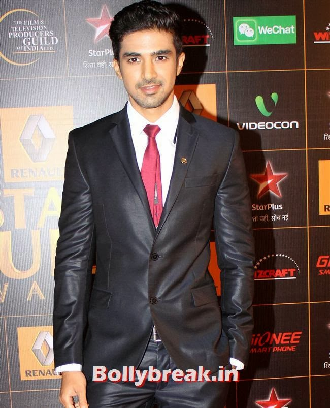 Saqib Saleem, Star Guild Awards 2014 Pics