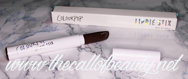 Lip Swatch: ColourPop Lippie Stix Pitch