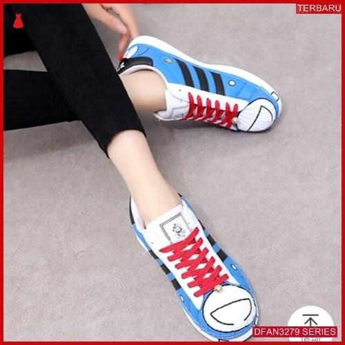 DFAN3279S44 Sepatu Dw 05 Poxing Wanita Doraemon Sneakers BMGShop