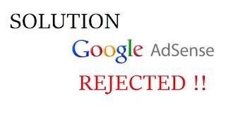 Penolakan Adsense Situs Tidak Sesuai Dengan Kebijakan Google