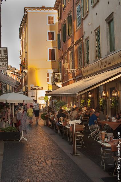 Peschiera di Garda viaje Italia