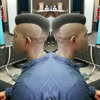 High Fade Faux Hawk hairstyle