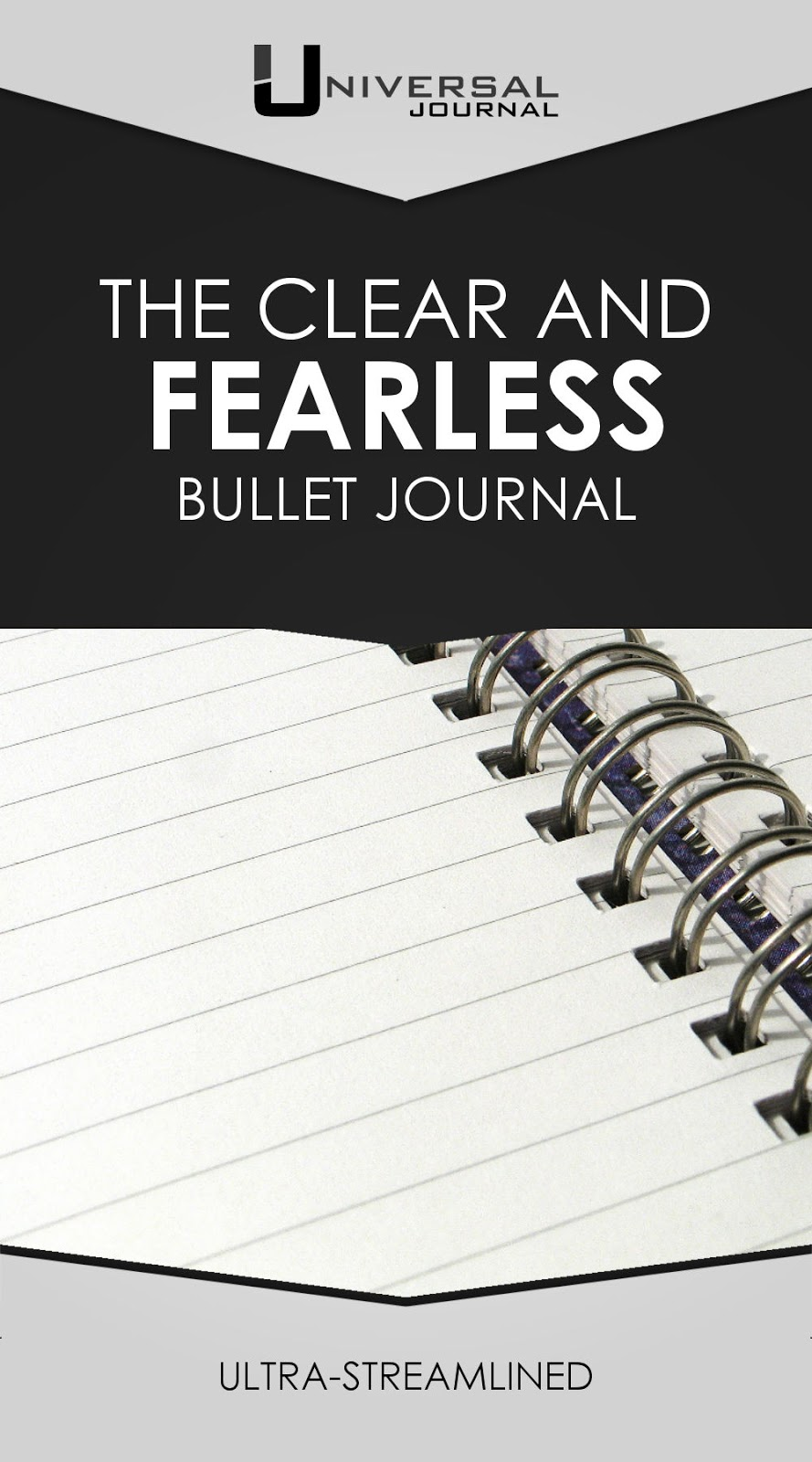 Clear and Fearless Bullet Journal