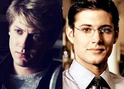 James Spader and Jensen Ackles