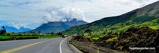Vulcão Imbabura, Equador