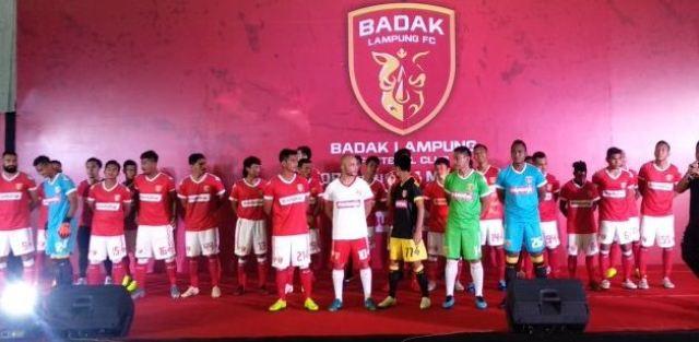 Daftar Pemain Badak Lampung FC Liga 1 2019