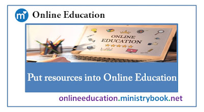 Put resources into Online Education