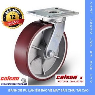 Bánh xe công nghiệp, bánh xe đẩy tải trọng nặng, bánh xe đẩy chịu lực www.banhxedayhang.net